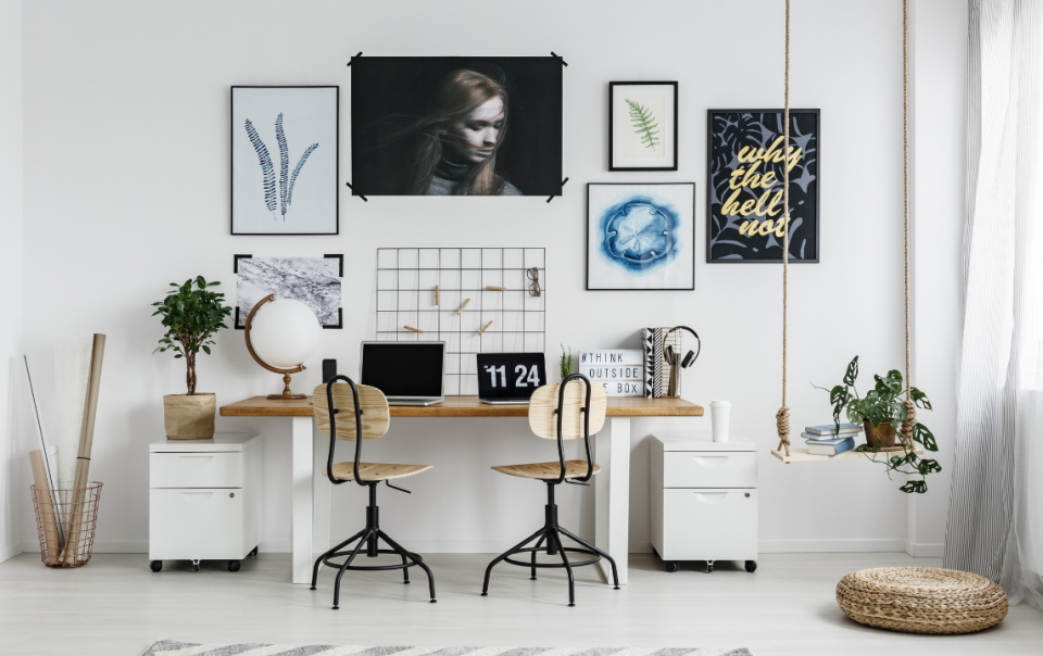 Turn Your Home Into A Great Workspace