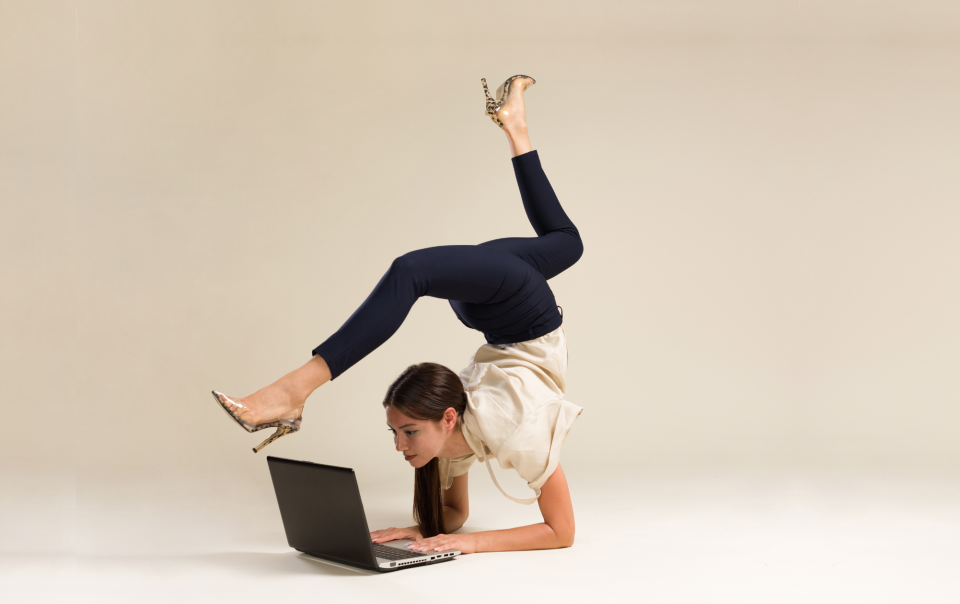 This practice has changed since it was first transmitted (approximately 15,000 years ago). However, we can still use it as a way to transcend our limitations and reach our full potential. For this reason, we want to share with you some Home Office Desk Yoga to Relieve Your Stress.