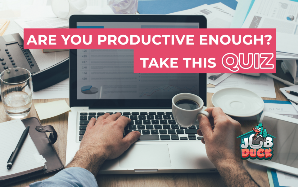 Are you productive enough?